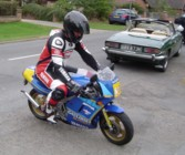 Rob on Darin's YSR80