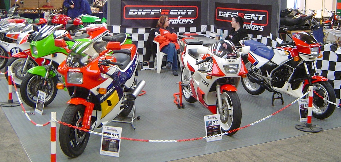 Diff'rent Strokers at Stafford, Oct 2006